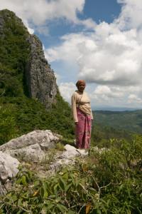 Aleta Baun in the countryside of Timor Island. Photo: Goldman Environmental Prize.